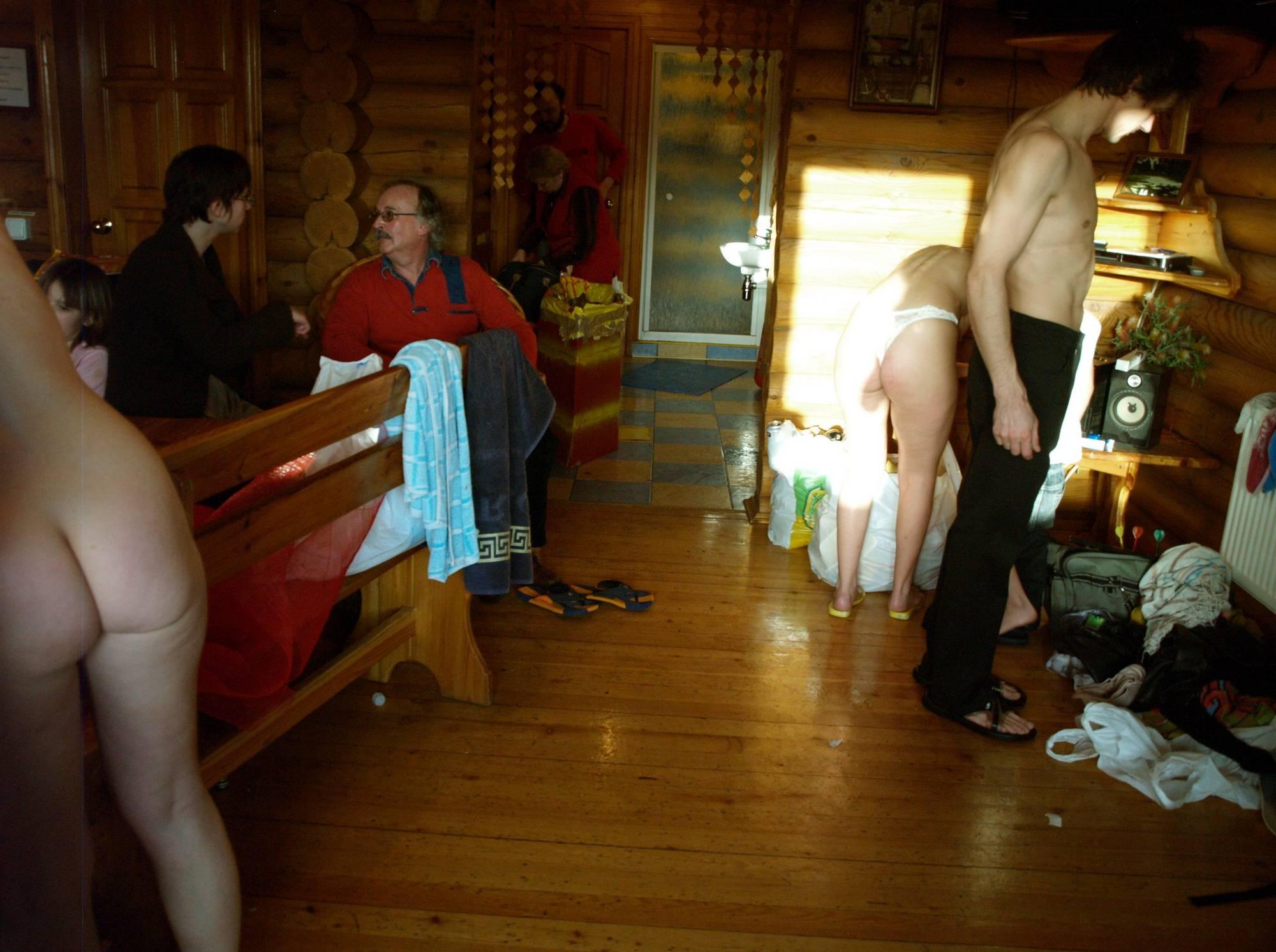 Around Nude Cabin Work - 1