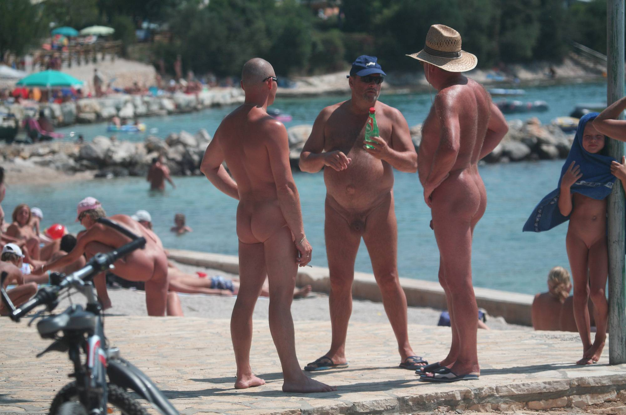 Nudist Pictures Avilia FKK Naturist Beach - 2