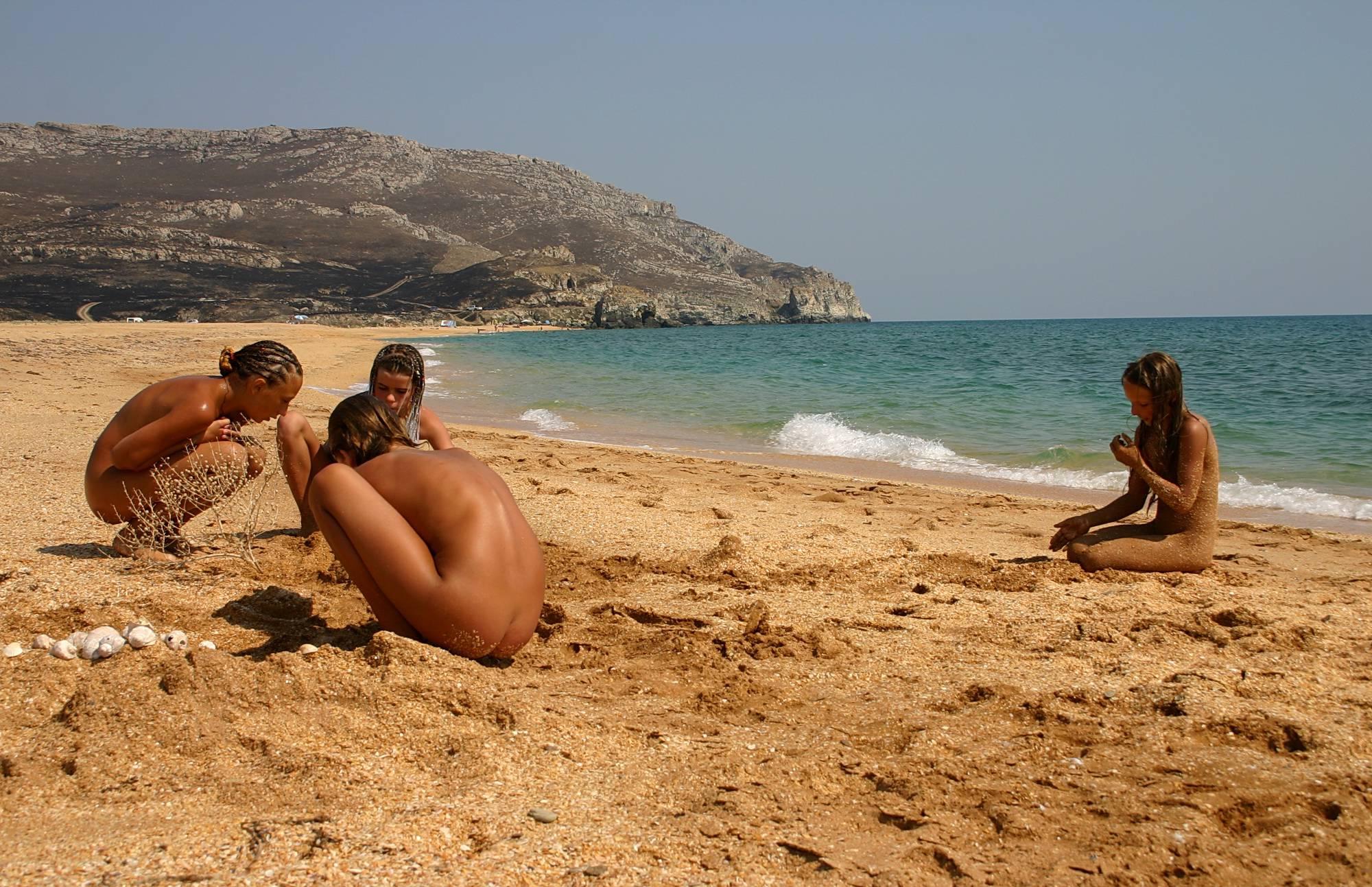 Beachside Sandy Mermaid - 2
