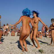 Blue Haired Sand Dance