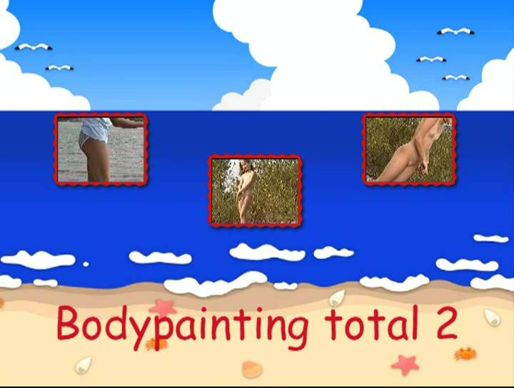 Nudist Videos Bodypainting total 2 - Poster