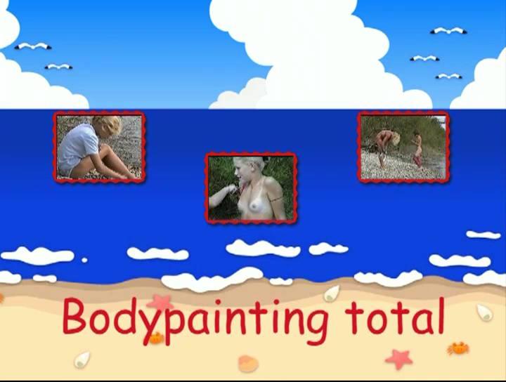 FKK Videos Bodypainting total - Poster