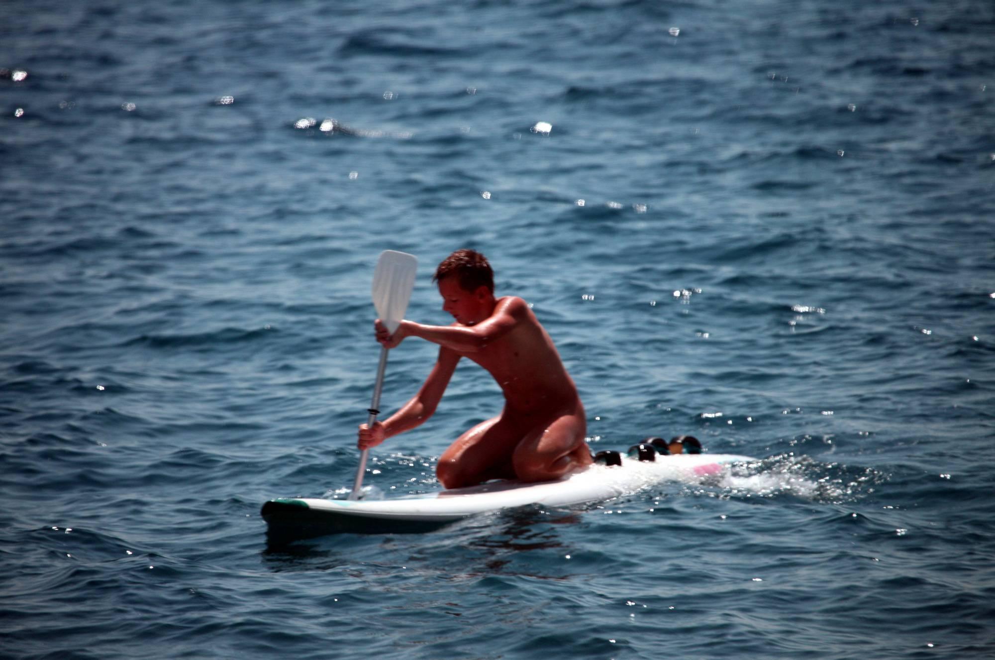 Nudist Gallery Boys Nudist Water Surfing - 2