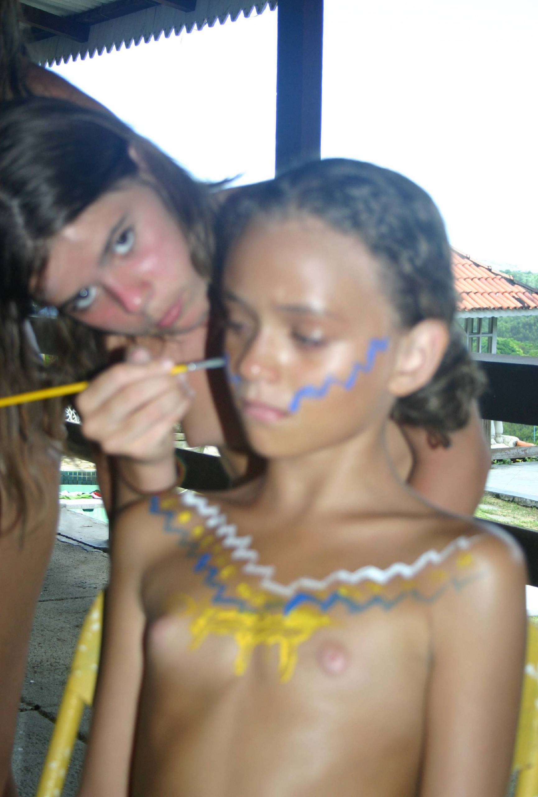 Brazilian Kid Body Painting - 1