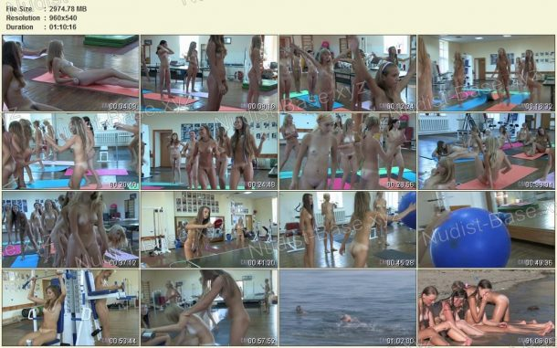 Snapshots Teen Nudist Workout 2 1