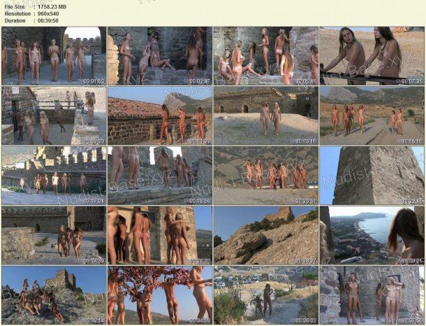 Shots Ancient Castle Nudism 1