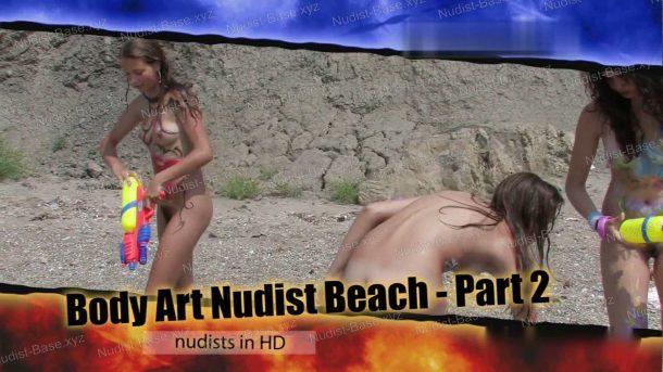 Video still Body Art Nudist Beach - Part 2