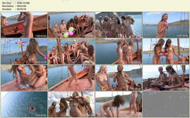 Miss Teen Crimea Naturist 2008 snapshots 1