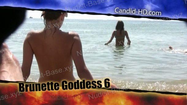 Brunette Goddess 6 - frame
