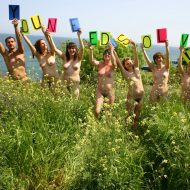 Colored Naturist Letters