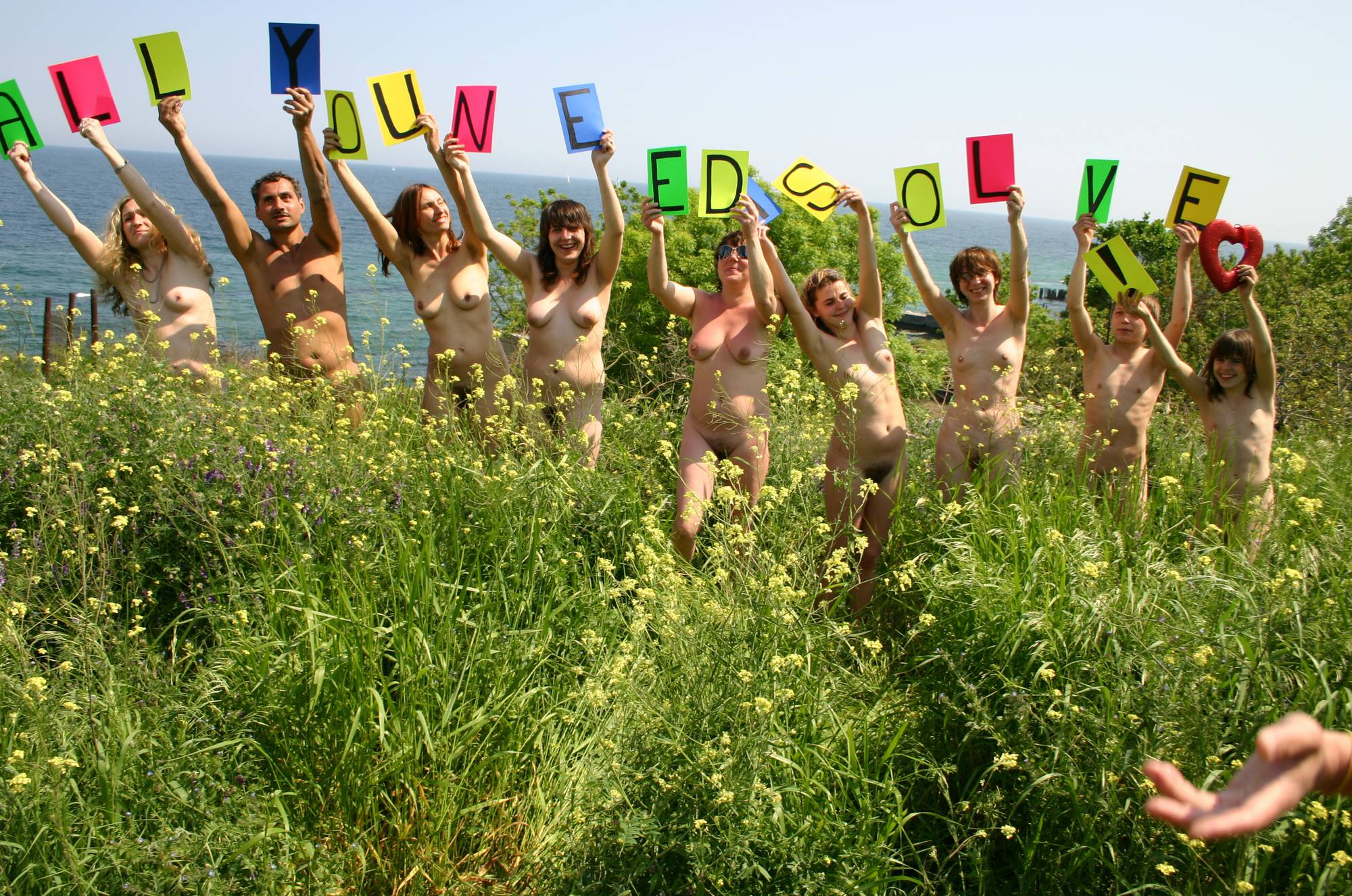 Colored Naturist Letters - 1