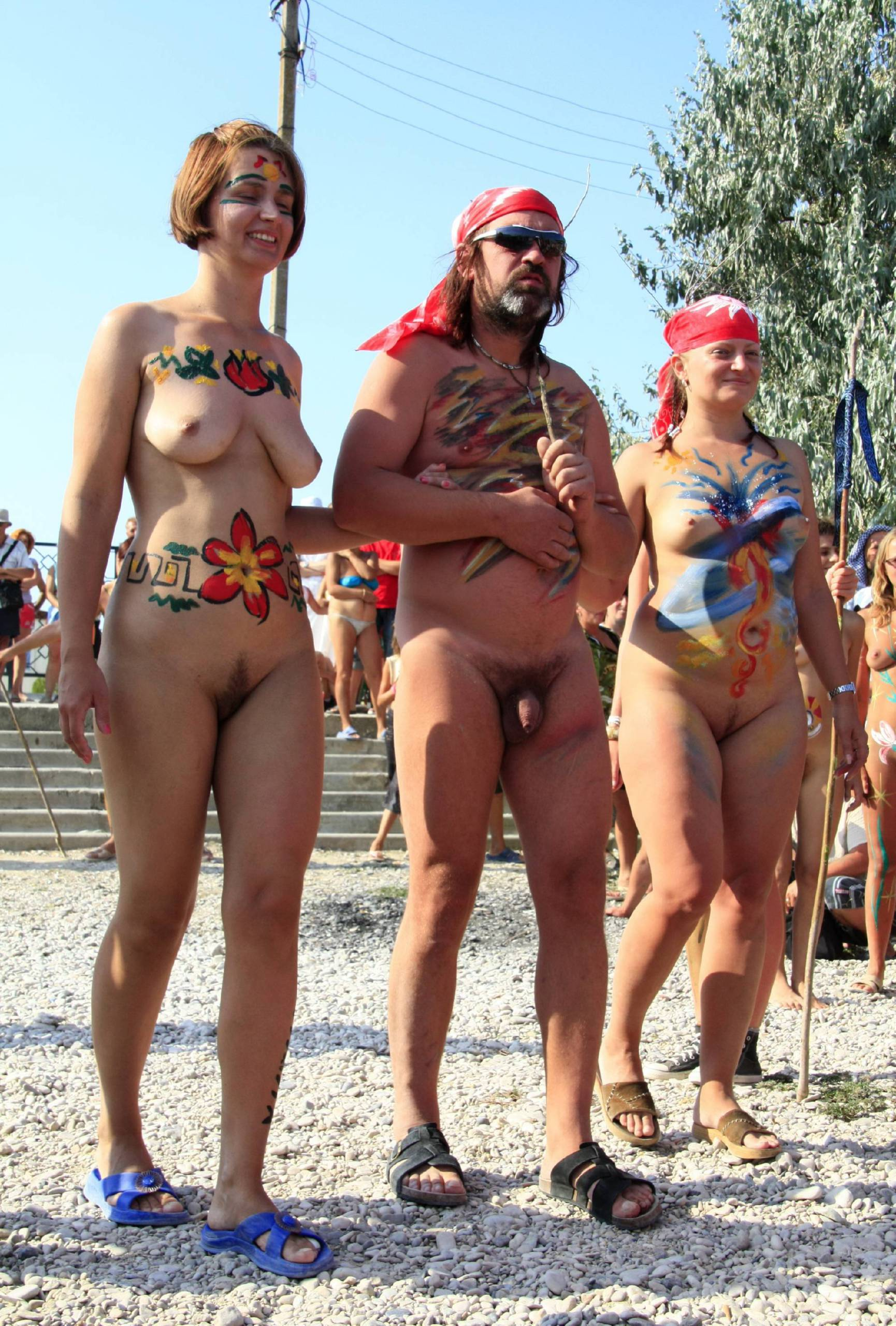 Colorful Naturist Couples - 2