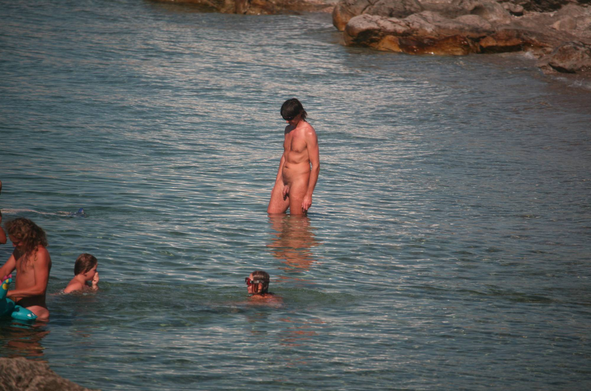 Crete FKK Skinny Dipping - 1