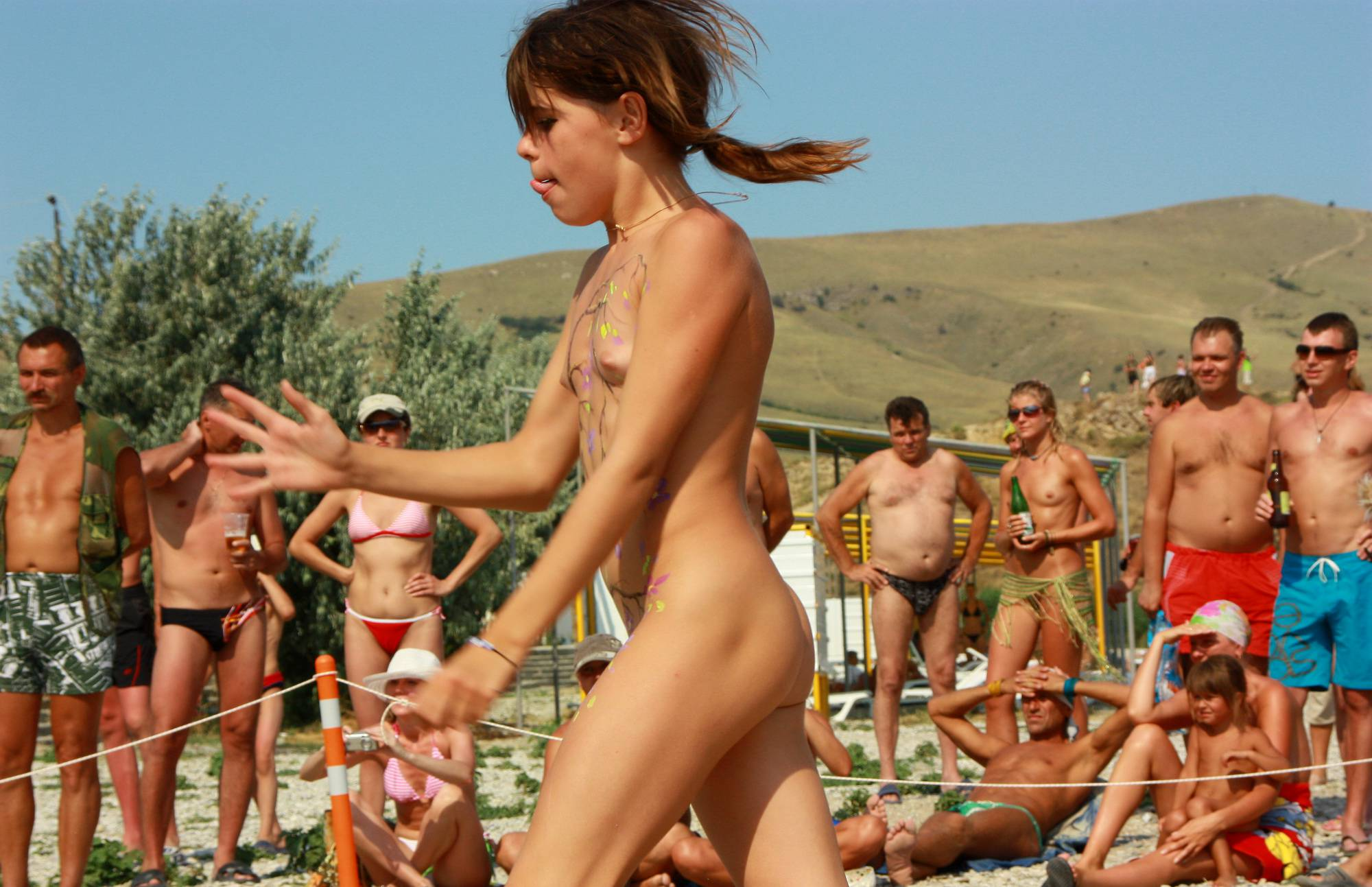 Nudist Pictures Dual Neptune Day Dance - 1