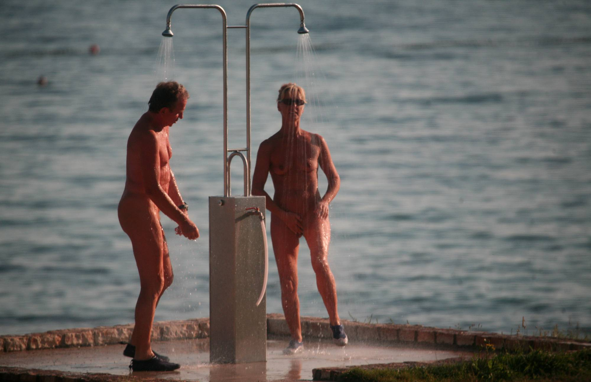 Nudist Pics Dusk Til Dawn Showering - 1