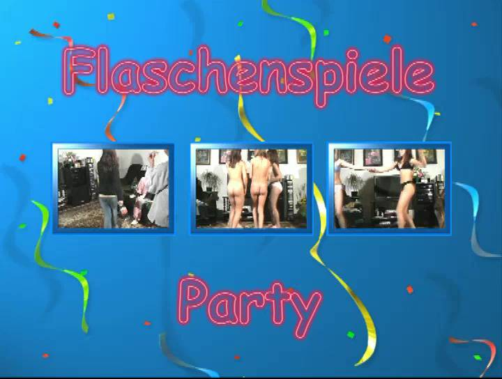 Nudist Movies Flaschenspiele Party - Poster