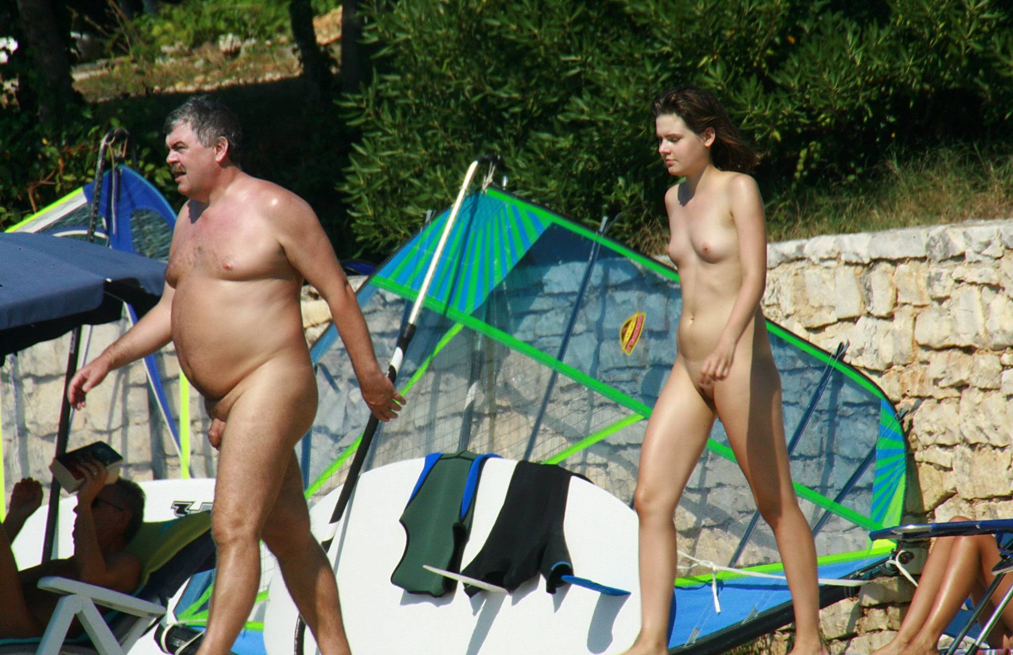 Nudist Photos Going For A Quick Dip - 2