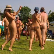 Holland Nude Group Photo