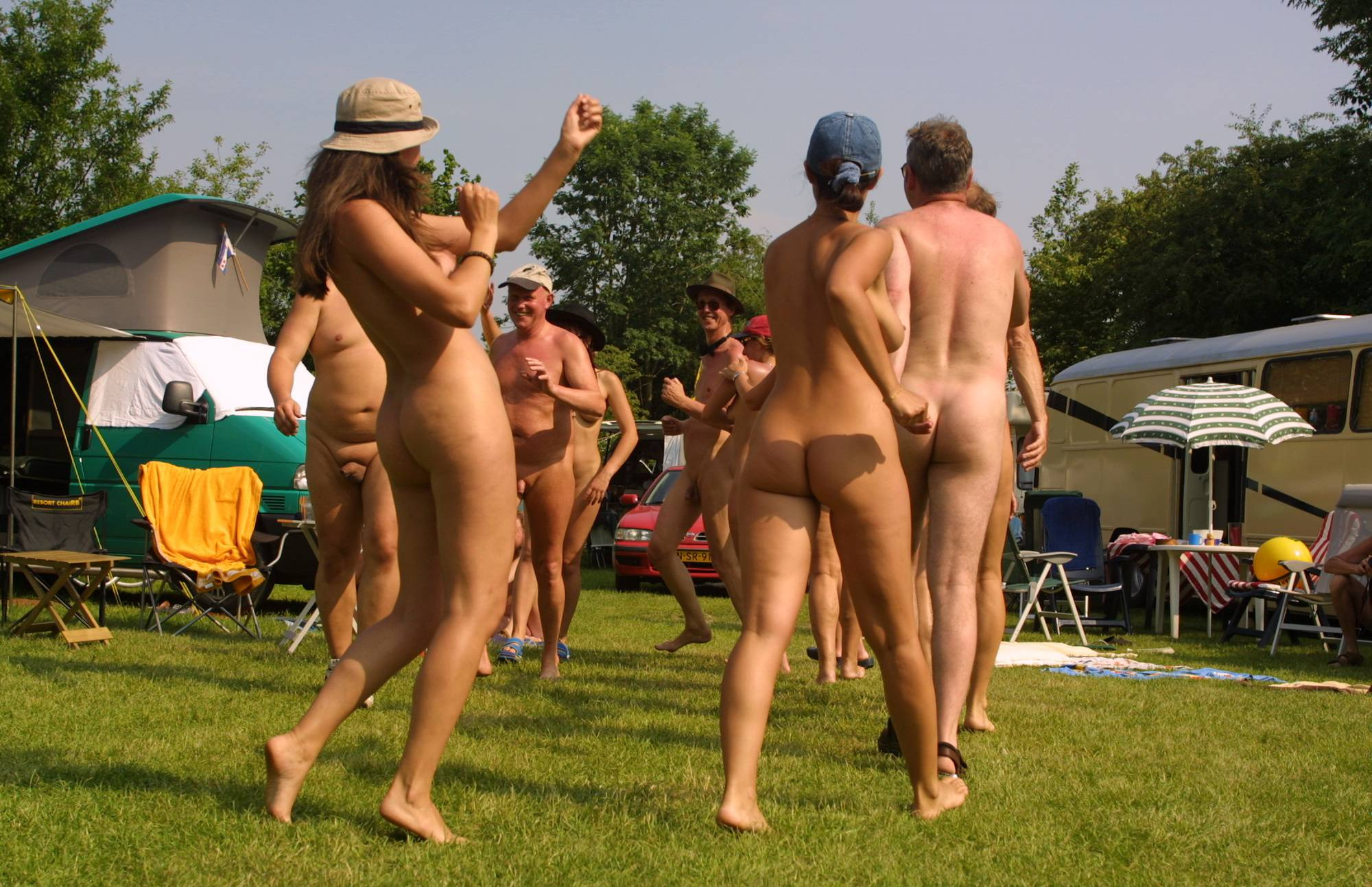 Holland Nude Group Photo - 1