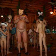 Kiev Masquerade Huddle