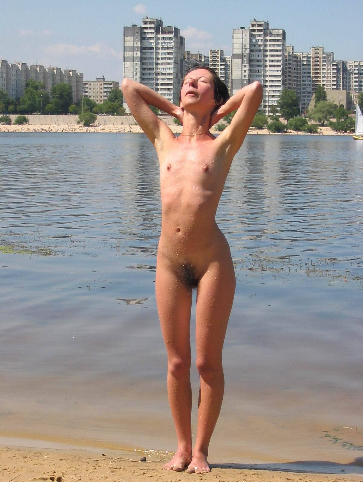 Nudist Pics Kiev Water-Front Bathing - 2