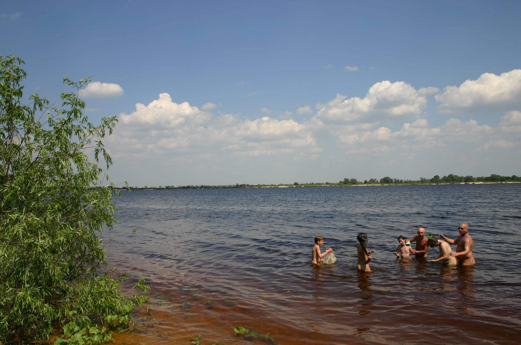 Nudist Photos Kiev Water-Front Bathing - 1
