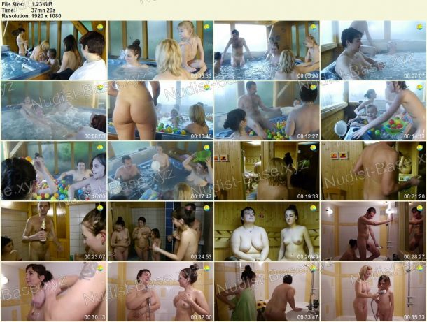 Young Cheerful Time Naturists snapshots 1