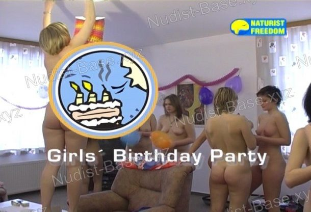 Girls' Birthday Party shot