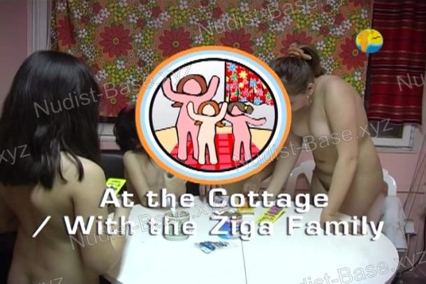 Cover of At the Cottage With the Ziga Family