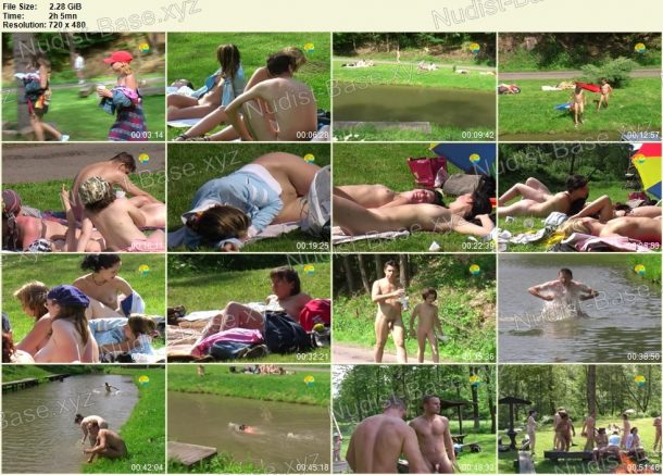 Film stills of Bathing in a Bahnak 1