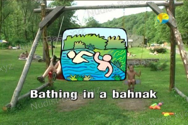 Bathing in a Bahnak - shot