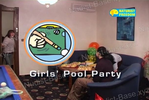 Video still Girls' Pool Party