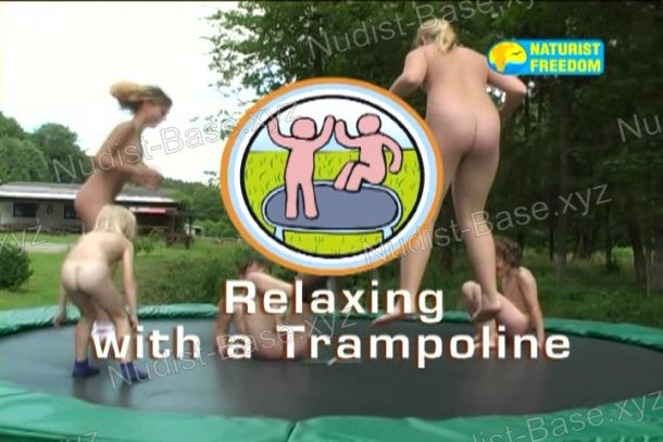 Relaxing with a Trampoline screenshot