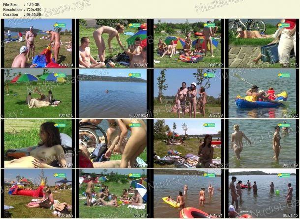 Film stills Bathing at Gravel-Pit 1