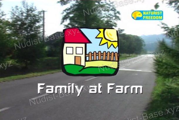 Family at Farm - snapshot