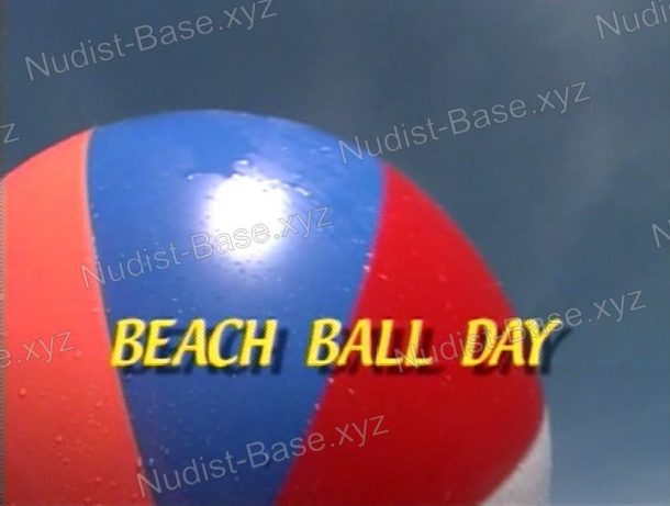 Shot of Beach Ball Day