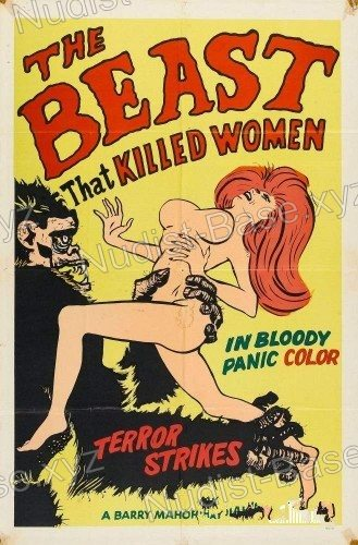 Cover of The Beast That Killed Women 1965