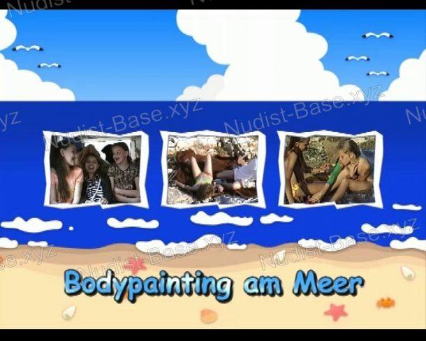 Bodypainting am Meer - screenshot