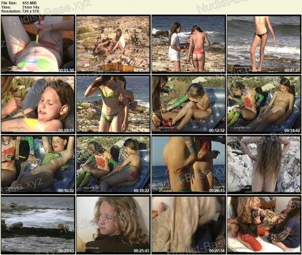 Screenshots of Bodypainting am Meer 1