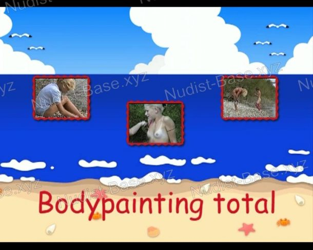 Bodypainting total - frame
