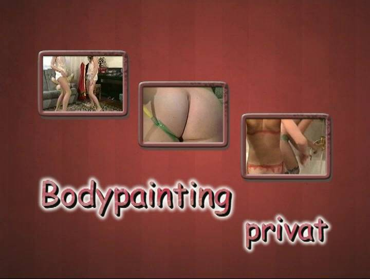 Nudist Videos Bodypainting Privat - Poster