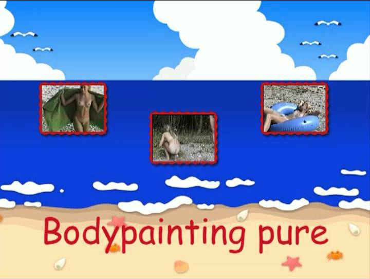 Bodypainting pure - Poster