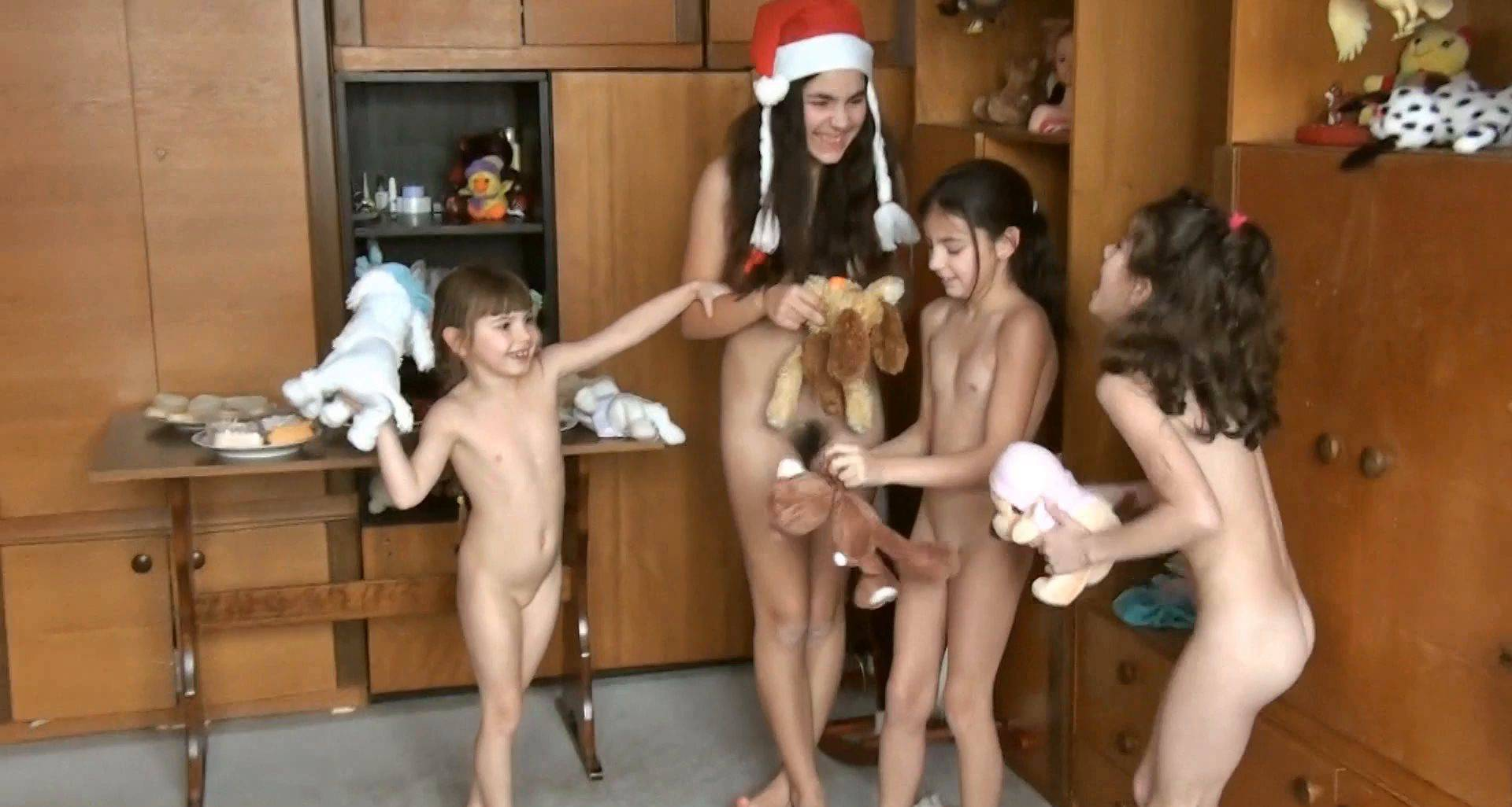 Nudist Videos Family Party of New Year - 1