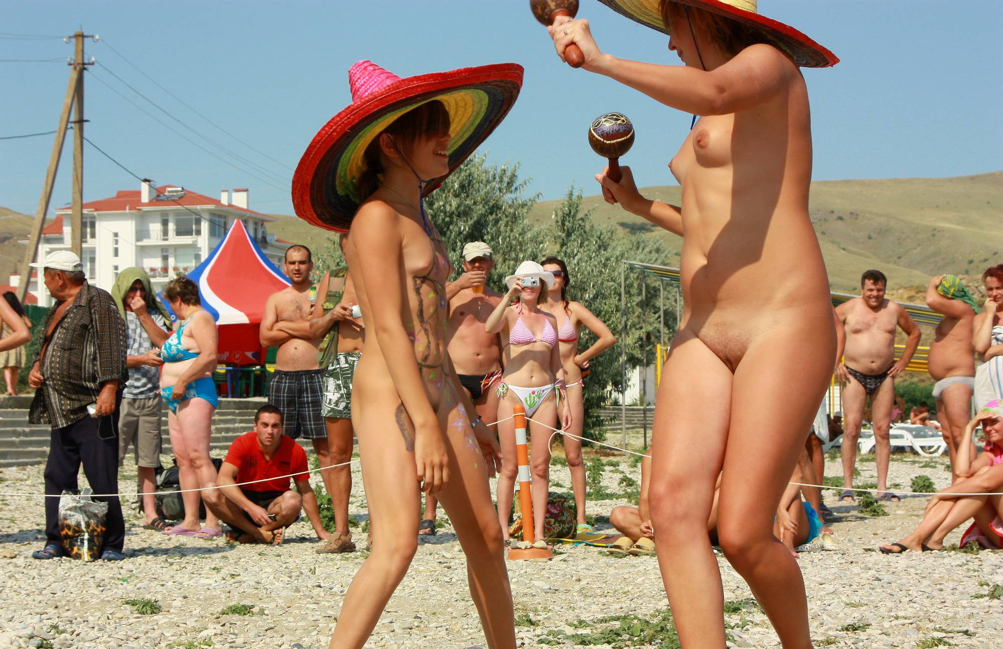 Nudist Pictures Neptune Mexican Dance - 2