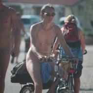 Nora FKK Road Park Biking