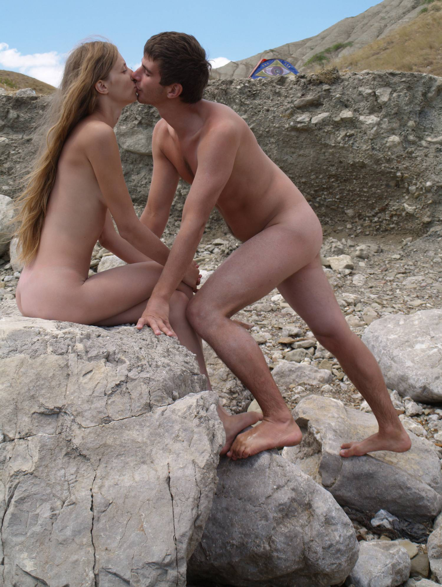 Nude Couple Air Fortress - 2