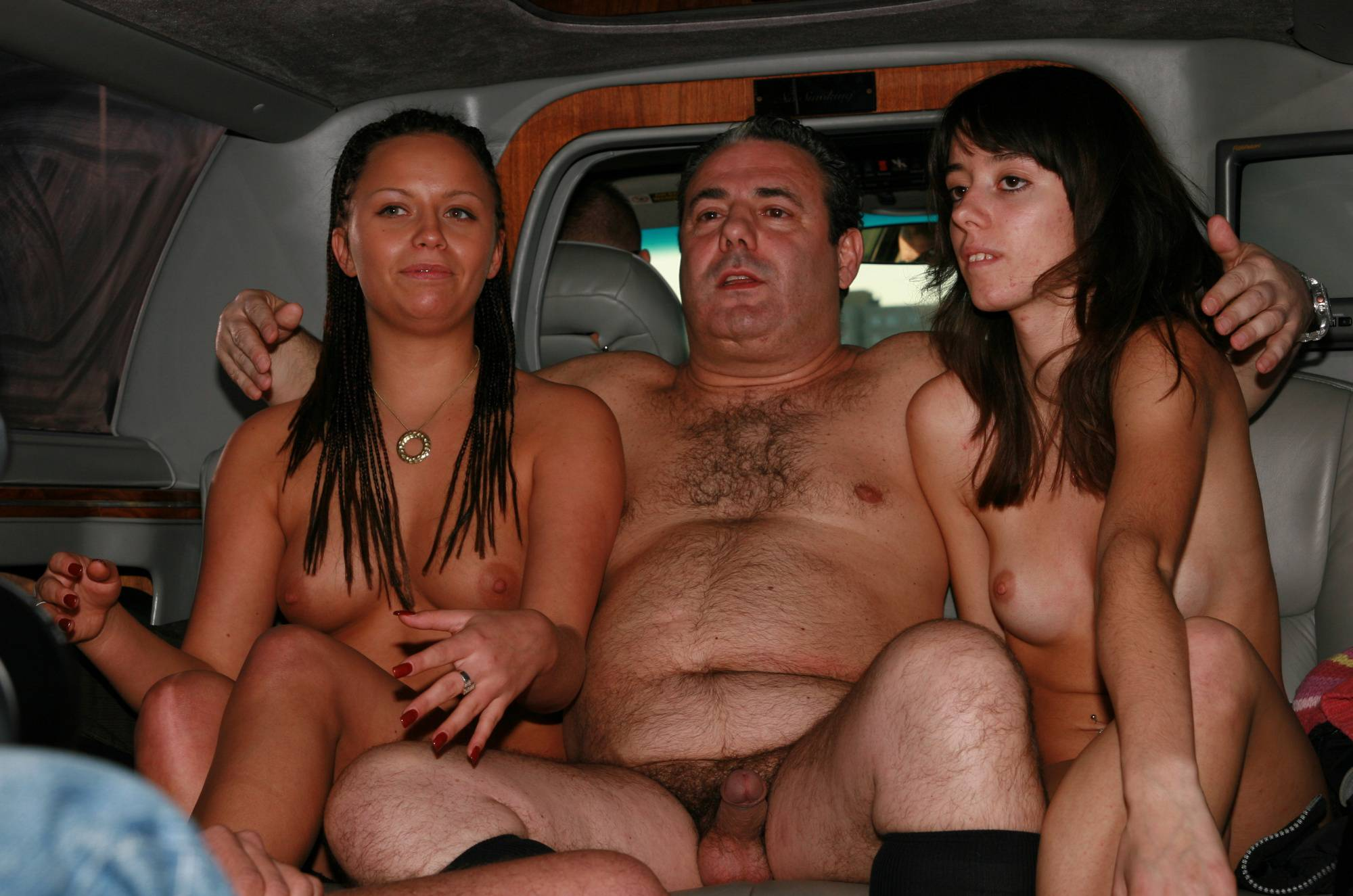 Nudist Photos Nude Limousine Friends - 1