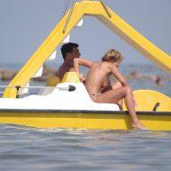 Nudist Beach Water Rafts