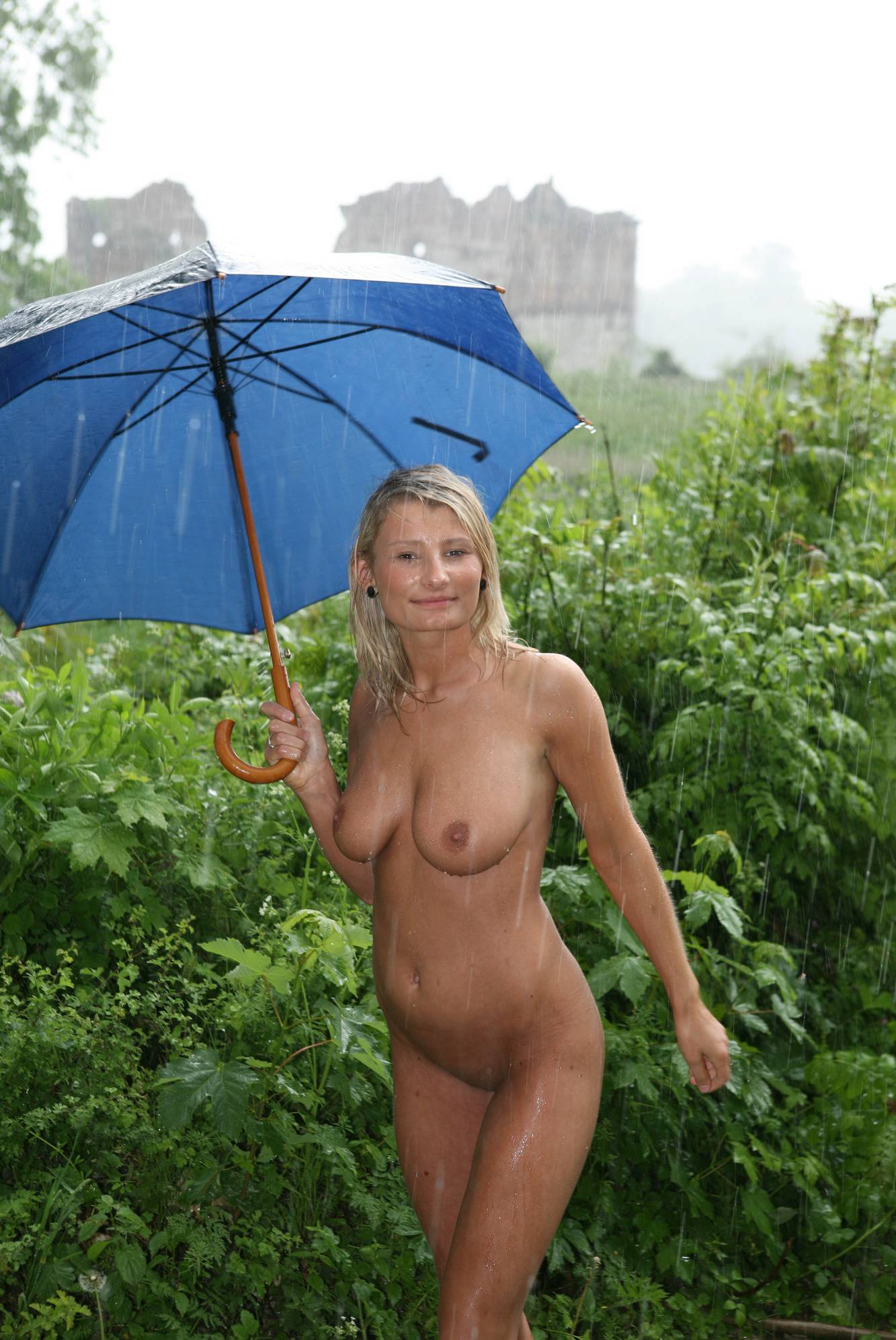 Nudist Pics Castle Umbrella Dance - 2