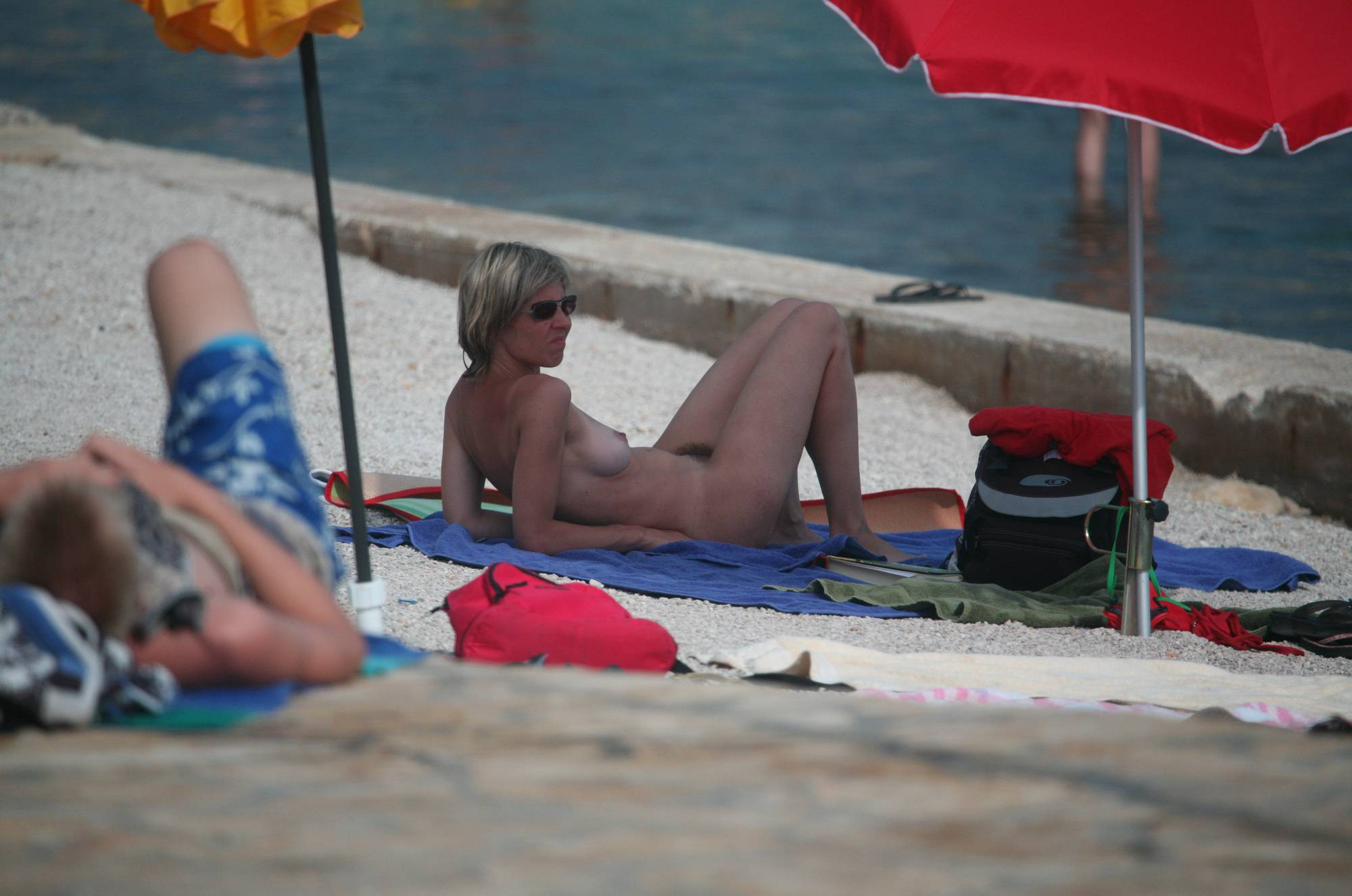 Nudist Gallery Crete Beach Inside View - 1